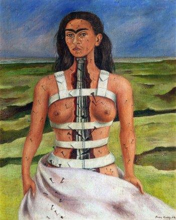 La colonna rotta - Frida Kahlo