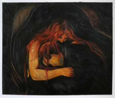 vampiro di Munch