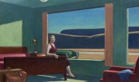 Western Motel di Hopper