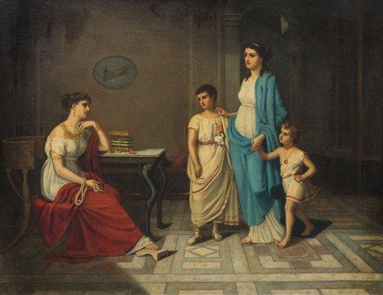 Cornelia e i suoi gioielli 1870