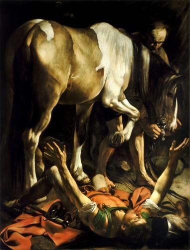Conversione di San Paolo Caravaggio
