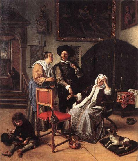 Jan Steen visita del dottore