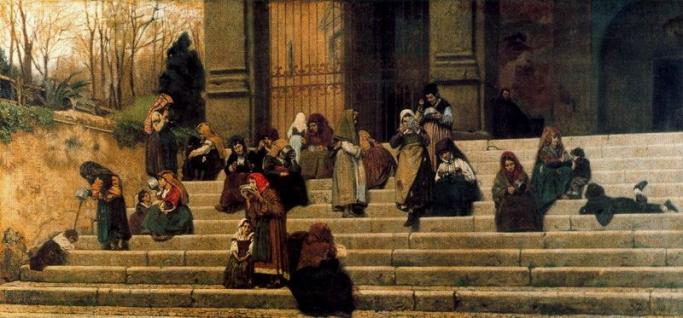 Impressioni di Roma di Federico Zandomeneghi